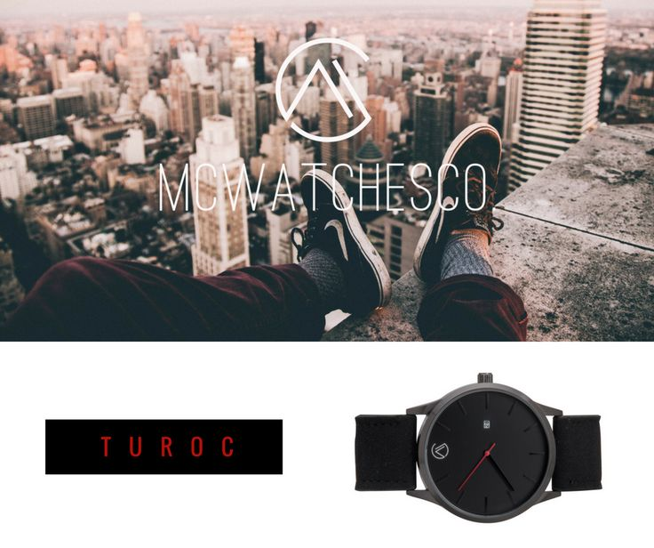 Riesgo represantado con esta imagen, una nueva forma de dar a conocer la marca MCWATCHESCO., con sus nuevos relojes tanto para hombre como para mujer, en esta caso podemos ver el Modelo Turoc en color negro.