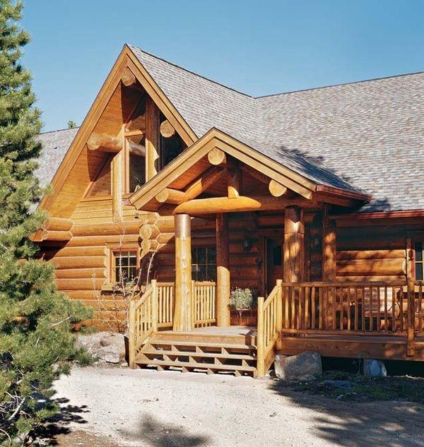 log cabin homes - Google Search