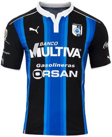 The new Querétaro 2016-17 jerseys by Puma introduce stunning designs.