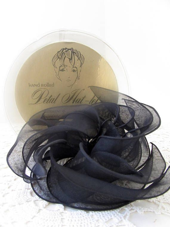 Vintage Hair Bow Fascinator Cocktail Party Hollywood Glamour