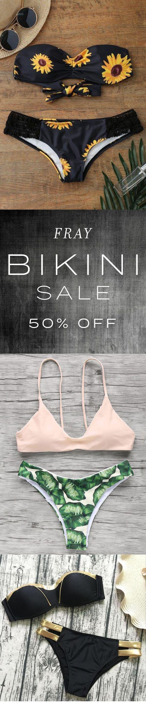 Bikini Flash Sale – 50% Rabatt (oder mehr) – ★★★★★