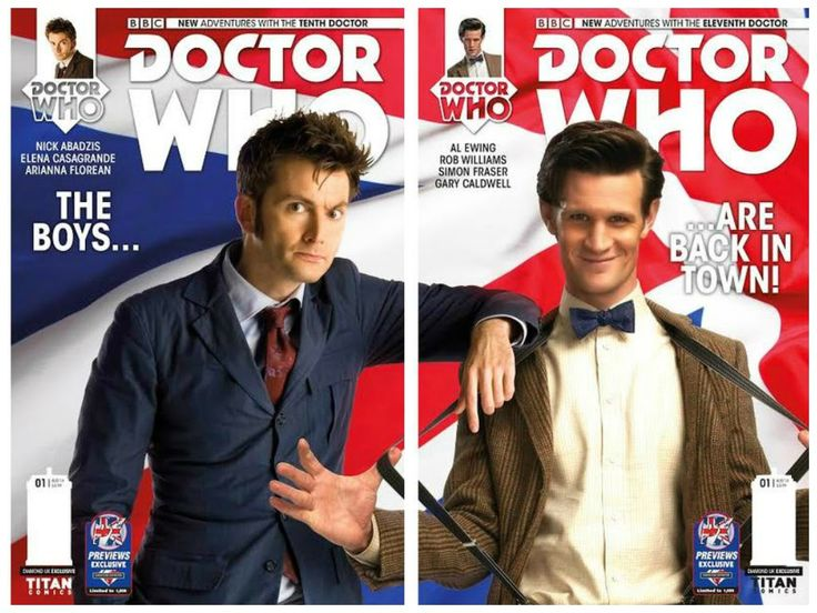 More TITANS Doctor Who Comics Covers Revealed