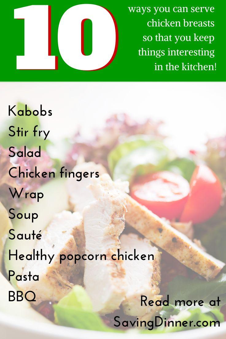 chicken10 easy recipes