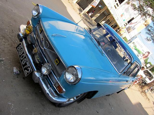 Classic Car In Jaffna, via Flickr.