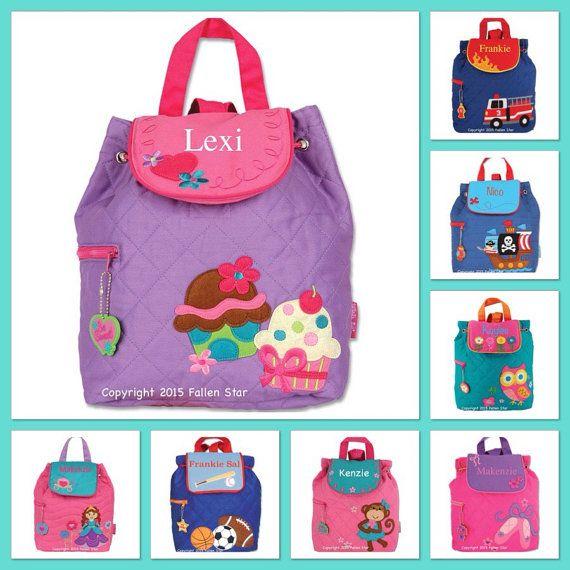 Kids Backpack Toddler Back Toy Bag Preschool Stephen Joseph Personalized