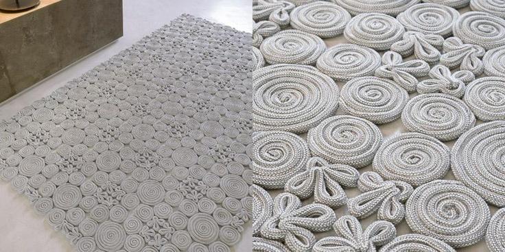 17 migliori immagini su Tappeti crochet su Pinterest ...