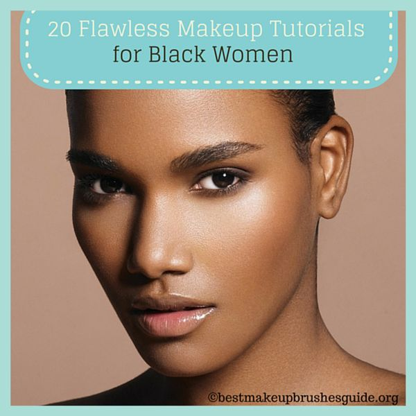 Natural African American Makeup Tutorial  Saubhaya Makeup-8286