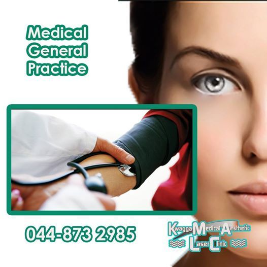 Although Kwagga Medical Aesthetic has a range of products and services, we remain a general practice and will assist you in all avenues of medical care. Your health is our prime concern. #healthyliving #medicalpractice #healthyliving
