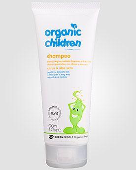 Green People Детский шампунь «Цитрус и Алоэ» Organic Children's Citrus & Aloe