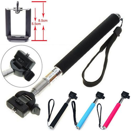 Extendable Self Selfie Stick Handheld Monopod+ Mini tripod with Clip Holder+Bluetooth Shutter Remote for iPhone Samsung gopro // $ 27.85 // Free shipping worldwide // #GoPro #goprooftheday #goprohero3 #goprohero #goprohero4 #goprouniverse #goprophotography #goprophotography_ #goproeverything #gopro3 #gopro4 #goproid #goproselfie #gopronation #goprolife #goprohero3plus #goproapp #goprophoto #goprodreams #goproph #goprowater #gopro_epic #gopro_4life #goprovip #goprovideo