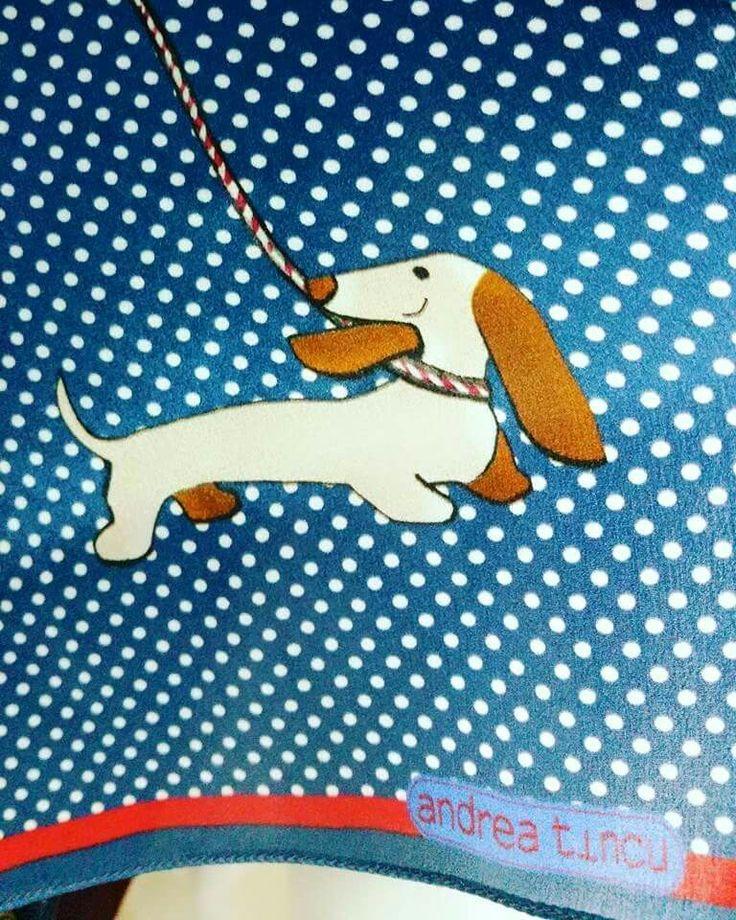 Dots and dog