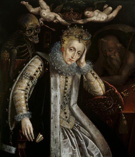 queen elizabeth i - Google Search Heavy hangs the head..,