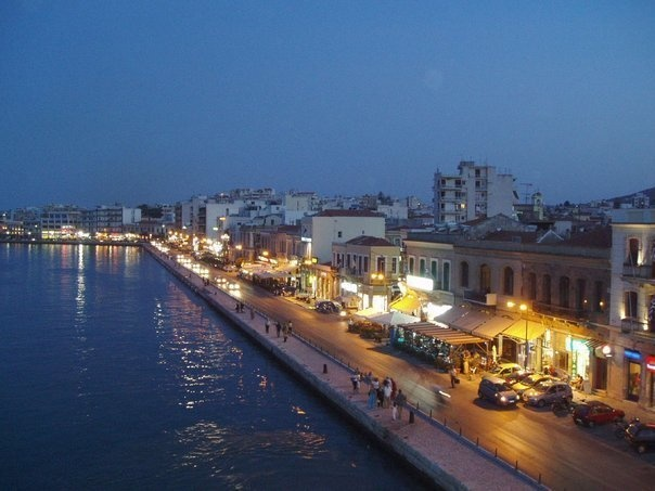 stin paralia,chios - Greece... (a strip of cafés, bars, night clubs, restaurants)