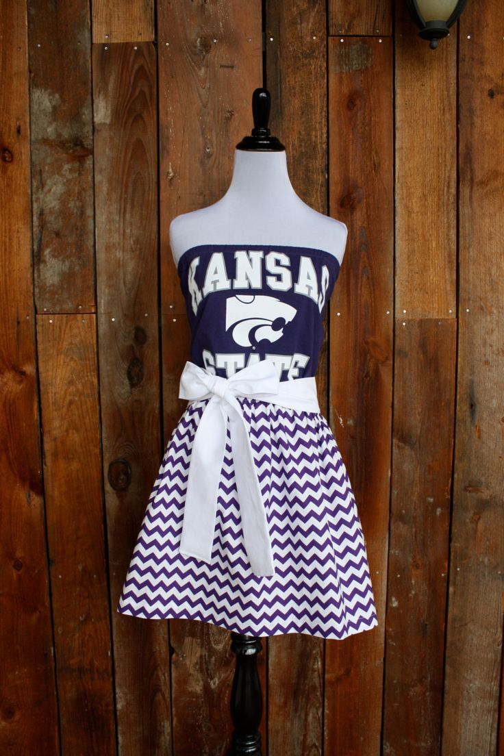 Kansas+State+KSU+Wildcats+Game+Day+Dress++Size+by+jillbenimble,+$52.00