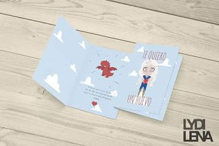 Game of Thrones Daenerys Valentines Day Card By: Lydilena