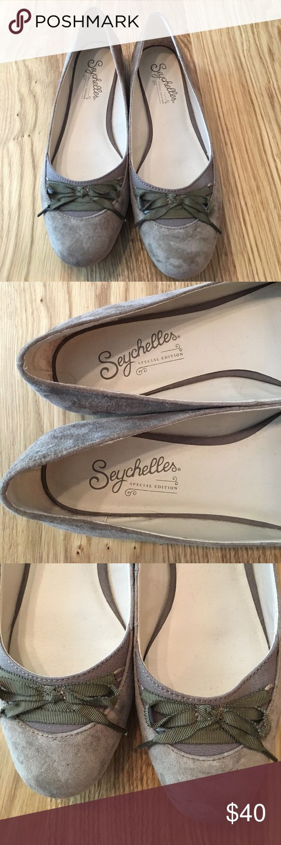 Anthropologie Ballet Flats, Brian size 8 NWOT Super cute brown ballet flats purchased from Anthropologie with the brand name Saychelles. Size 8 with adorable lace up detail on toes. Never worn, new without tags or box. Anthropologie Shoes Flats & Loafers