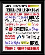 Image result for teacher retirement party ideas