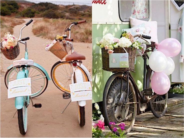 Decoração de Casamento Rústico  Bicicleta  blogdamariafernanda