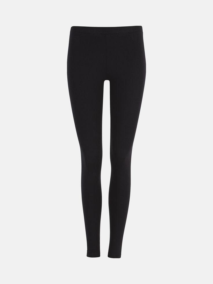 9,95e koko L Pehmeät trikoot, joissa on vyötäröresori. Musta