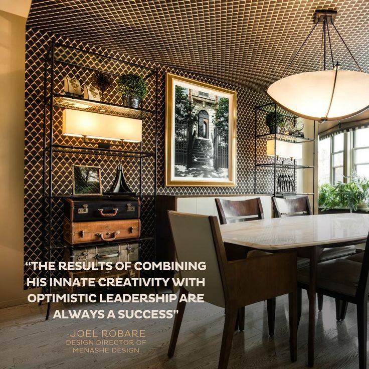 Joel inspires with purpose and passion, ensuring that creative expression is balanced by a project's needs as much as its aesthetics. #WestVillagePied-A-Tierre. #MenasheDesign #DefiningDesign #NYC #InteriorDesign #Details #HomeCaring #Tips #HomePolish #hotnow #JoelRobare