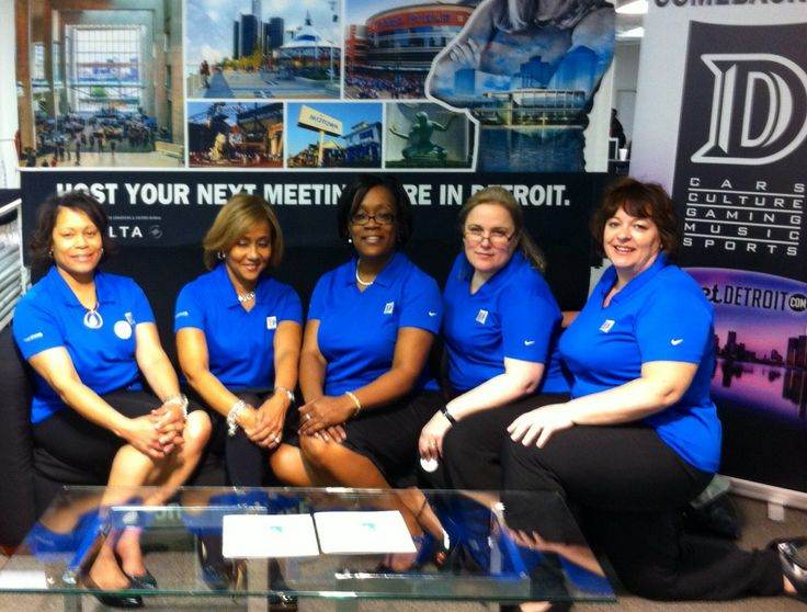 Members of our sales and events team partnered with Visit Detroit at last week's 2014 Eventeract trade in Atlanta where they promoted travel in The D.  #detroitmarriott #visitdetroit #eventeract