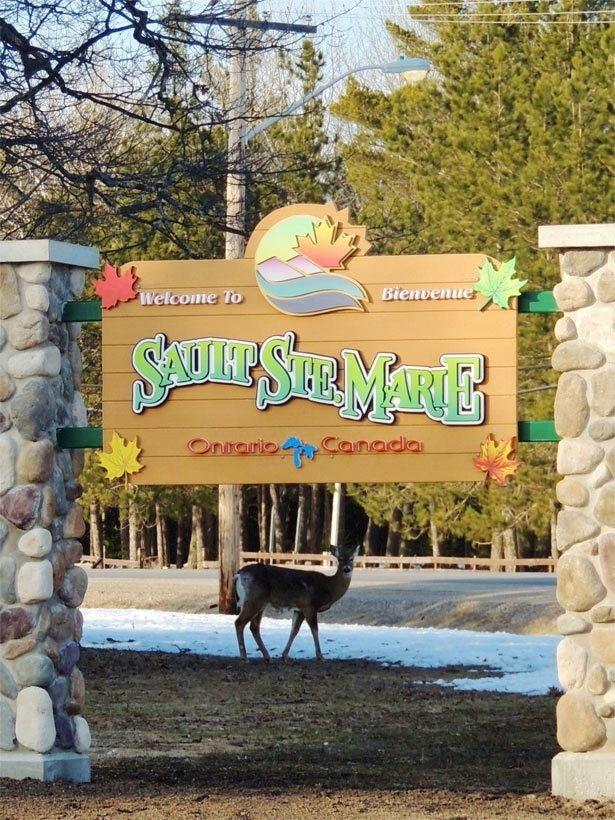 Welcome to Sault Ste. Marie, Ontario #saultstemarie #ontario #canada             Photo Credit: Sara Dunn via Local2