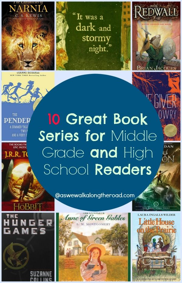Looking for good book series for older kids? Here are ten great recommendations.