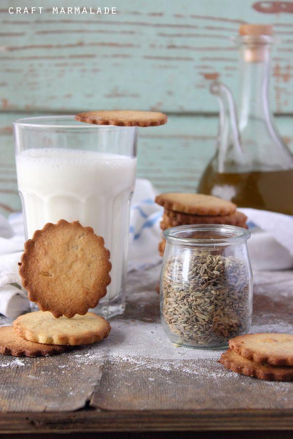craft marmalade: Frollini all'olio d'oliva e semi di finocchio