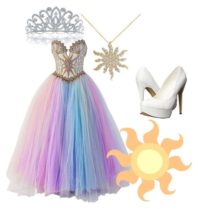 """Modern Mlp: Princess Celestia"" by mlp-love ❤ liked on Polyvore featuring Bling Jewelry, Bob Mackie, Allurez, Michael Antonio and modern"