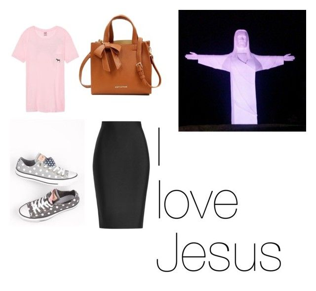 """""""Pentecostal outfit"""" by lizzi5500 ❤ liked on Polyvore featuring Suzy Levian, Victoria's Secret, Hoover and Roland Mouret"""