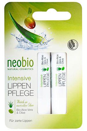 NEOBIO AJAKÁPOLÓ DUO ALOE ÉS OLÍVÁVAL 2 DB - Értékes, tápláló olajokkal, bio Aloe vera kivonattal és bio olívaolajjal kényezteti és védi az érzékeny ajkakat. Az értékes karnauba viasz bársonyossá teszi az ajkak finom bőrét, és ellenállhatatlan fényt kölcsönöz.  Biogazdálkodásból származó összetevőkkel. Nem tartalmaz szilikont, paraffint, ásványolajat, szintetikus illatanyagot, színezéket, tartósítószert. Natrue által minősített natúrkozmetikum.  Gluténmentes.