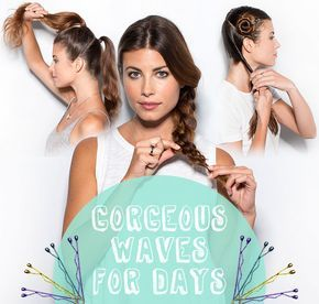 Want to get no heat waves? We've got a heatless wavy hair tutorial on the DevaCurl Blog, For All Curl Kind. No heat beach waves, wavy hair tutorial, wavy hair no heat tutorial, wavy hair no heat overnight curls, heatless wavy hair, heatless wavy hair tutorial, no heat curls, no heat hairstyles, no heat waves