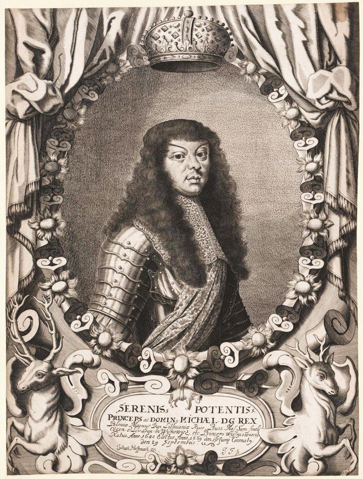 King Michael Korybut Wiśniowiecki by Johann Hoffmann, ca. 1670 (PD-art/old), Österreichische Nationalbibliothek