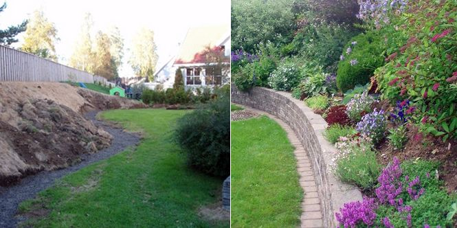 inspirasjon hage skråning - Google-søk