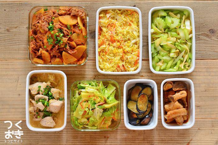 「副々菜」まで揃えるのは大変!という方は、「副菜」に使う野菜の種類を増やしたりすることで補いましょう。 また、常備菜など作りおきがあれば忙しい朝でも「副々菜」まで揃えられるので是非チャレンジしてみて。