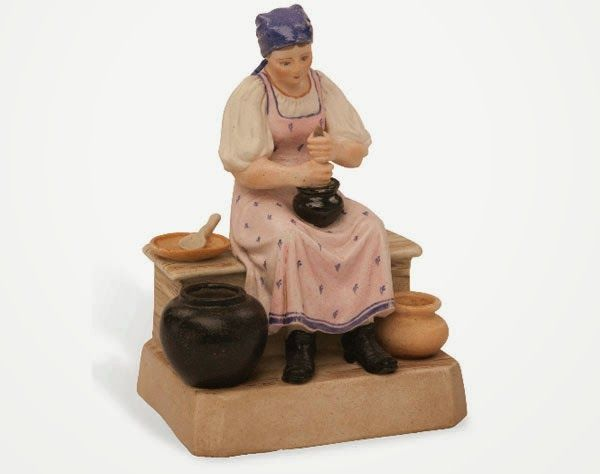 Крестьянка, взбивающая масло, (1870 — 1890), Вербилки.