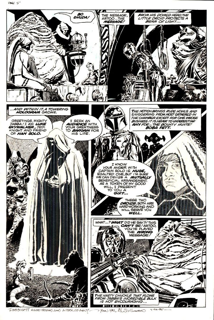 Star Wars: Return of the Jedi ,Al Williamson