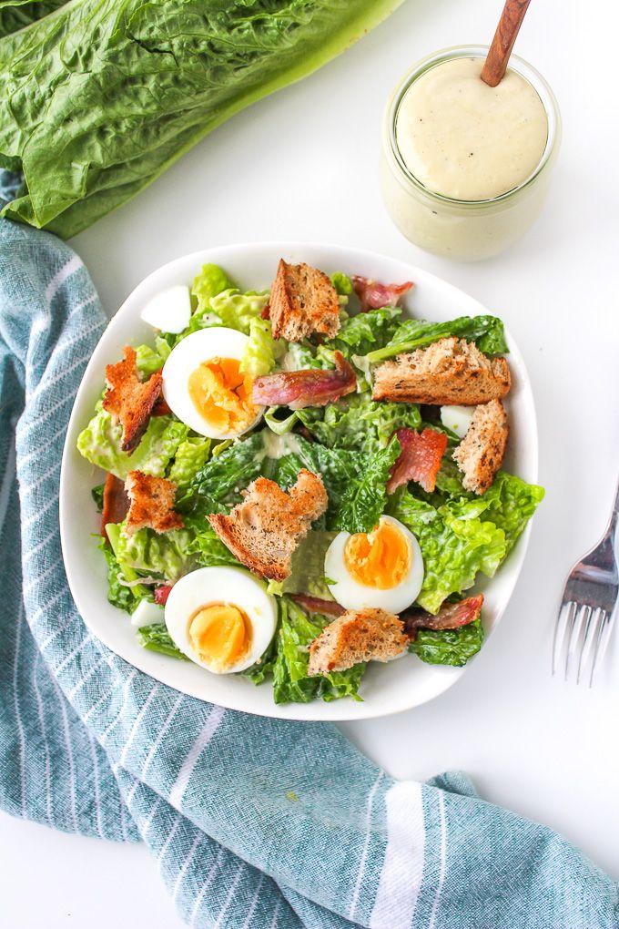 Caesar salad rezept mit mayonnaise