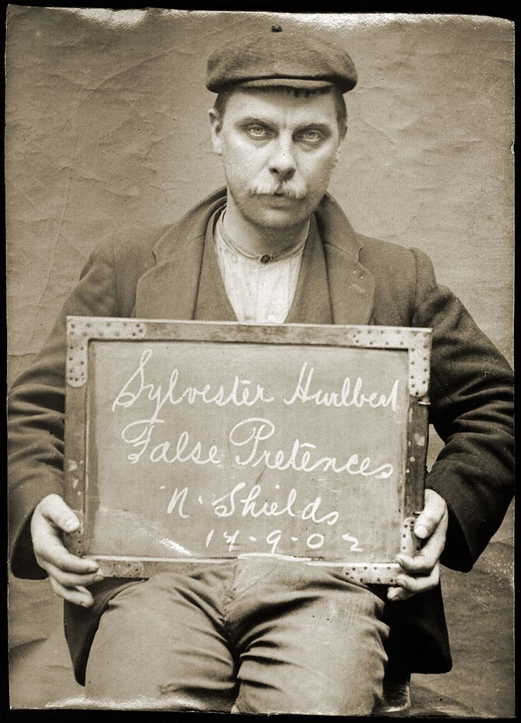 vintage everyday: Criminal Faces of North Shields - The Men