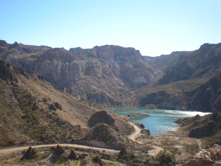 Cañon del Atuel, San Rafael, Mendoza, Argentina