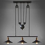 Max 60W Anheng Lys ,  Vintage Maleri Trekk for LED / Mini Stil Metall Stue / Soverom / Spisestue / Leserom/Kontor – NOK kr. 1.947