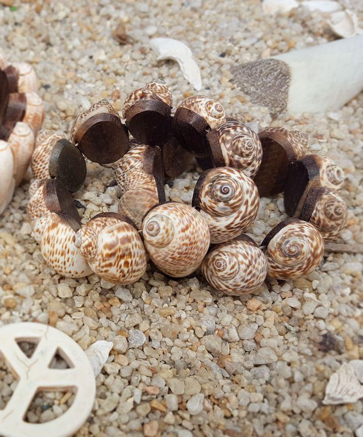 Pulseira Conchas