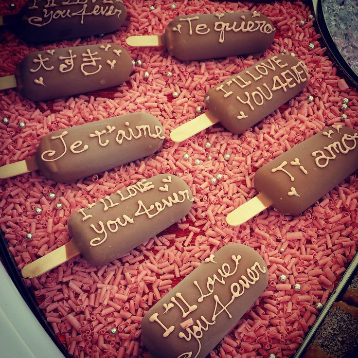 Ti amo, Je t'aime, I love you...say it with gelato!     #Valentinesday #BeMyValentine