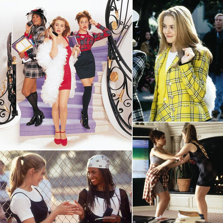 """""""Clueless"""" fashion moments. Still a film that I would re-watch especially for its fashion and how beautiful Ms. Silverstone looked. From the casual T shirt to the yellow suit to the glamorous short red dress... everything was iconic and memorable."""