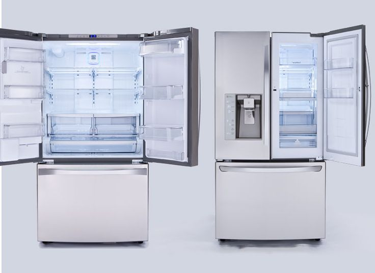 Consumer Reports Best:  The Kenmore Elite 74093 and LG LFXS32766S French-door  refrigerators.
