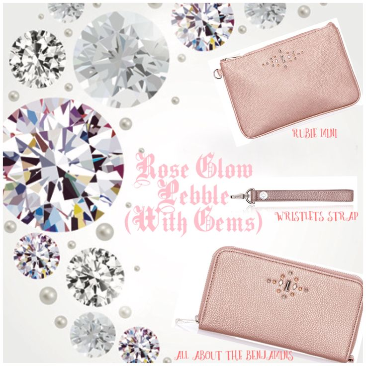 Rose Glow Pebble with Gems! Thirty-One Online Exclusive! Such a GORGEOUS color . Holiday gift guide Fall 2017 www.mythirtyone.ca/sabrinawhite