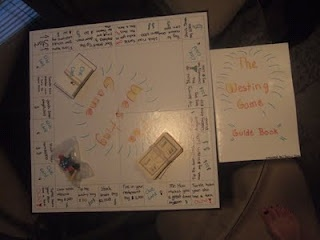 Board Game made from the book The Westing Game