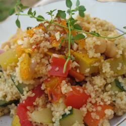 Couscous Tunisien aux légumes 25 minutes chrono @ allrecipes.fr