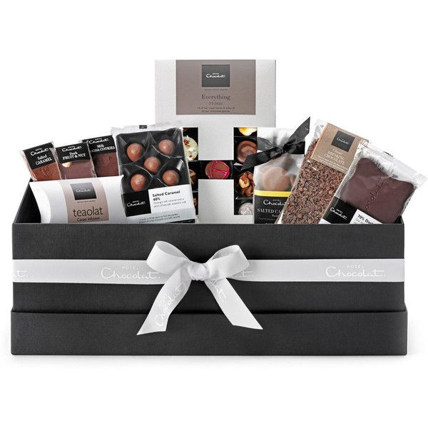 Large Chocolate Hamper ($47) ❤ liked on Polyvore featuring home, home improvement and storage & organization