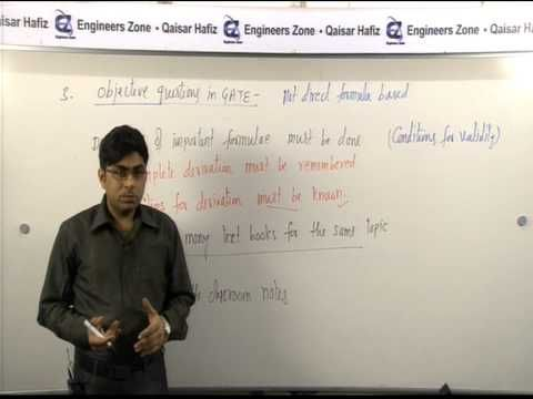 How to Crack IES/GATE/PSUs by Mr Qaisar Hafiz(Ex-I.E.S.AIR-02 in 2007) P...
